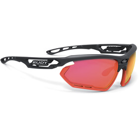 Rudy Project Fotonyk Brille matte black/red fluo/polar3FX HDR multilaser red